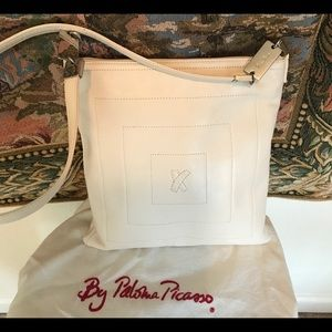 Paloma Picasso Bags - Paloma Picasso Leather Cross Body Bag